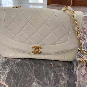 Chanel Vintage Medium Diana Flap Bag
